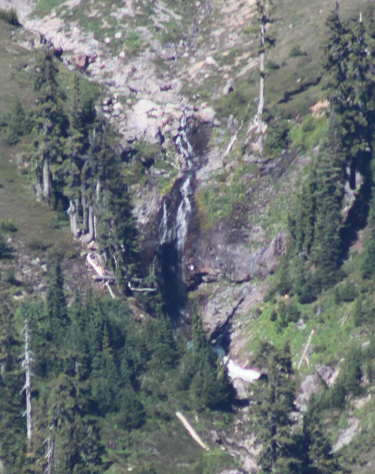 Ridley Creek Falls from the Park Butte Lookout